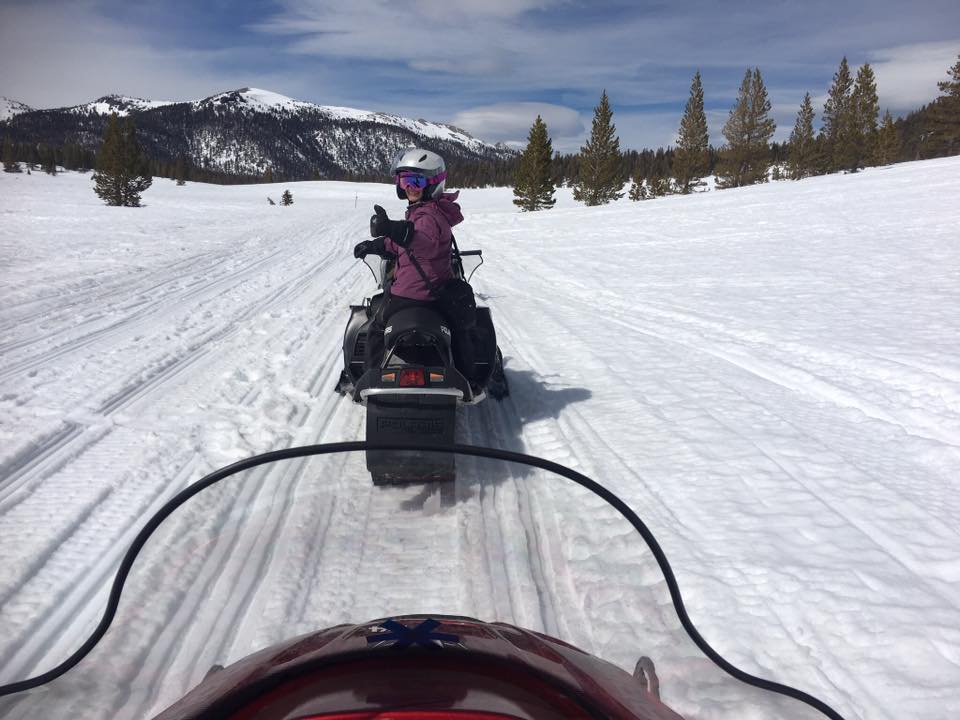 Mammoth Lakes Snowmobiling