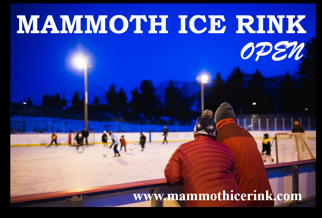 Mammoth Ice Rink OPEN