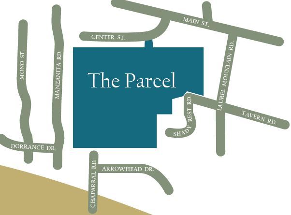 The Parcel key map